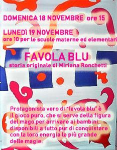 Il Carducci per i Bambini - Percorsi d'arte teatrale Favola blu