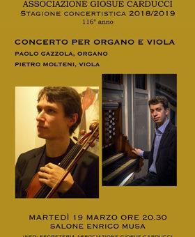 Concerto Organo e Viola