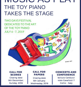 Music as play – the toy piano takes the stage