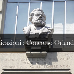Concorso Mario Orlandoni